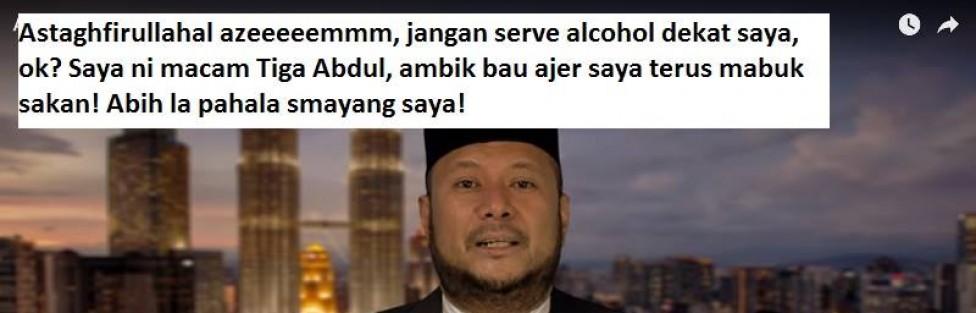 Arak Di Majlis Peguam – Islamofasis Buat Hal!