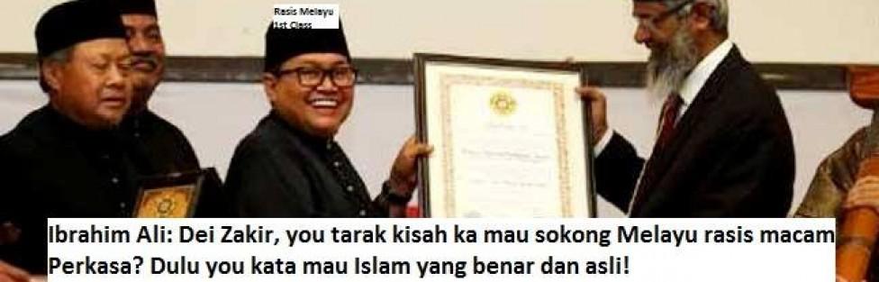 Farouk A Peru: Zakir Naik Sekarang Menyekutukan Islamnya Dengan Rasisme Melayu!
