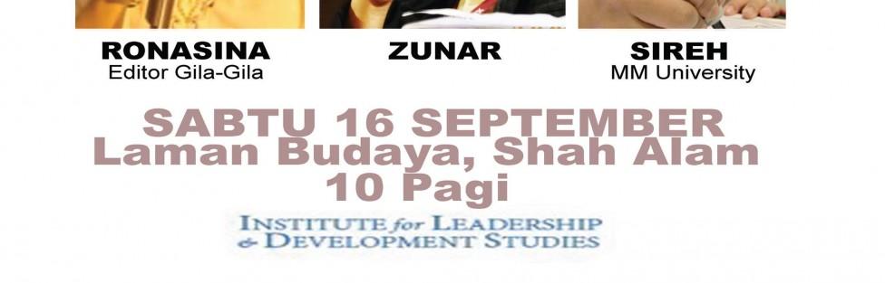 """Jangan lupa """"date"""" bersama ZUNAR pagi esok kat Shah Alam"""